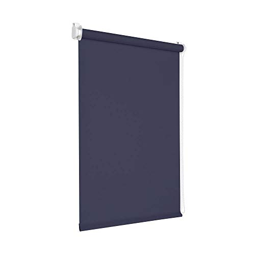 Victoria M. Tenebra Store Enrouleur Occultant, 55 x 220 cm, Bleu foncé