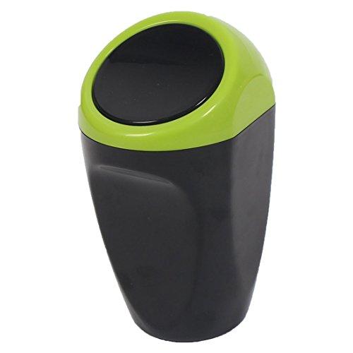 Sourcing map auto cestino rifiuti spazzatura lattina archiviazione scomparto polvere verde supporto