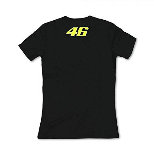 Athena-VRWTS108004-T-Shirt-Donna-VR46-Taglia-XS-Nero