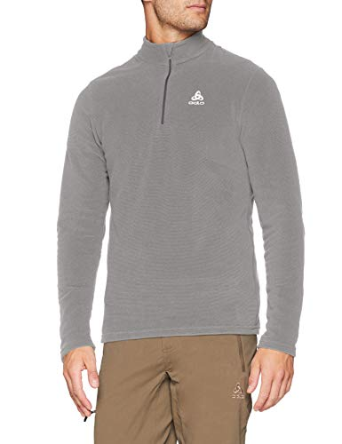 Odlo Herren Midlayer 1/2 Zip Roy Pullover Platinum Steel Grey/Stripes XL Preisvergleich
