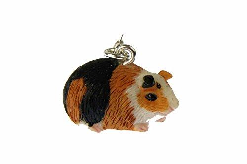 Miniblings Meerschweinchen Guinea Pig Charm Zipper Pull Anhänger Bettelanhänger