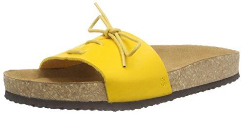 El Naturalista Waraji Damen Pantoletten Gelb (Yellow)