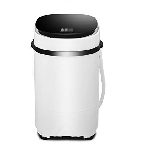 Mini Waschmaschine Kleiner Tragbarer Unterlegscheiben-Purpurroter Heller Bakteriostatischer Haushalts-Kompakte WäScherei FüR Baby-Kinder Mit Waschender KapazitäT Von 3.8KG/8Lbs