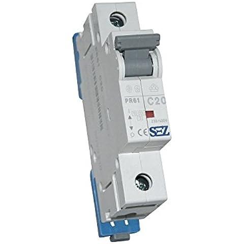 LS–Interruttore sez C 20A 1P 10kA VDE interruttore di circuito sicurezza automatica