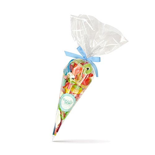 Preisvergleich Produktbild Auslese Großformat - große 600g Süßigkeiten-Tüte mit Fruchtgummis,  Kaubonbons und Marshmallows