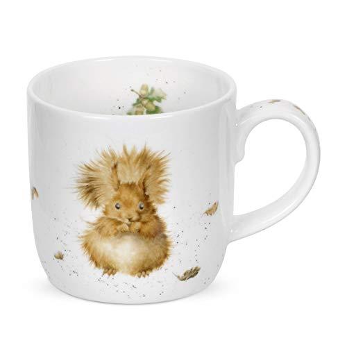 Redhead par Royal Worcester Wrendale Vert écureuil Simple Mug