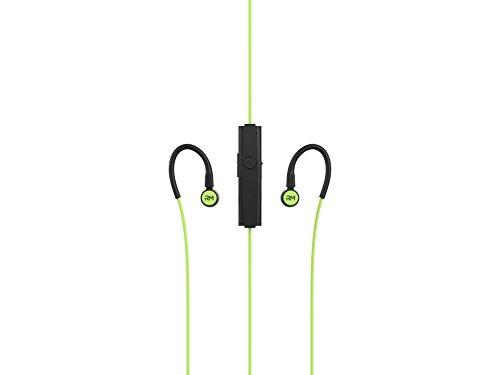 R-Music R-Flex Ecouteur avec Télécommande Micro intégré Intra-auriculaire Bluetooth pour Smartphone/iPhone/iPad/iPod/Lecteur MP3/PC Noir/Vert