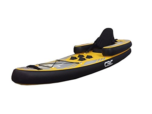 California Board Company California Boat Company Escape I-Kayak Inflatable Kayak Package One Size, Yellow