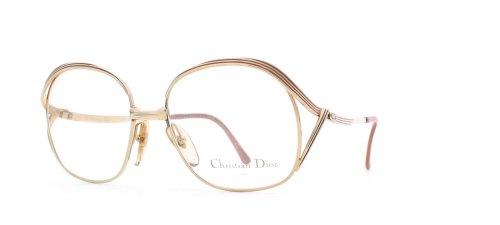 Christian Dior 2474 41 P, Gold, zertifiziert, Vintage, Brille für Damen