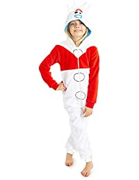 Disney Toy Story 4 Pijamas de Una Pieza Forky, Mono Infantil Entero Super Suave, Pijama Onesie Capucha, Regalos para Niños Niñas