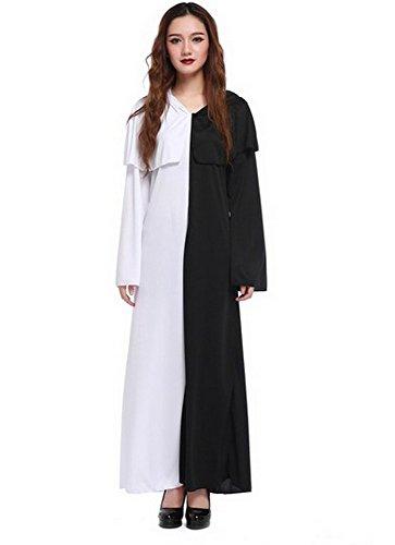 Schwarz / Weiß One size ()