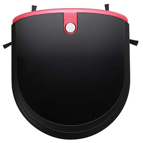QXM Automatischer Wischtuchwischautomat für Zuhause Ultradünner leiser Planung intelligenter Staubsauger,Black