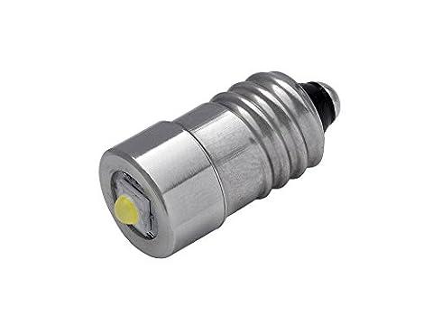 Porte chled10-hplv–Super Lumineux LED 3W Ampoule de rechange pour lampe de poche–Culot E10–1–3V