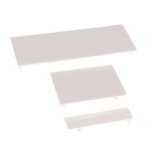 MagiDeal 1 Set Ersatz Tür Abdeckung Deckel Gehäuse Cover Case Für Nintendo Wii Konsole, Weiß