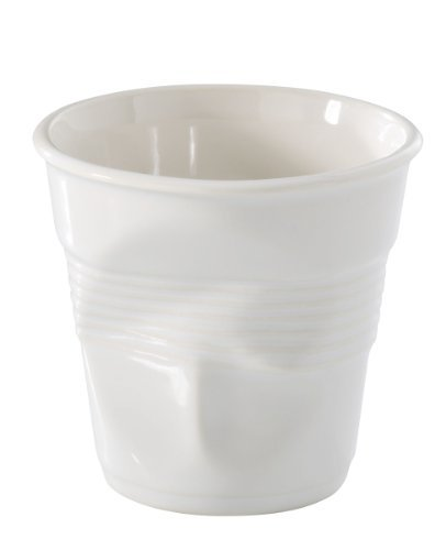 Revol Froisses Gobelet Espresso froissé 616096, blanc par Revol
