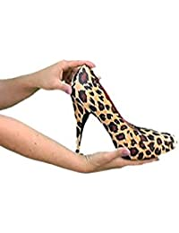 House of Quirk Heel Swap Change Leopard Design without Changing Heels