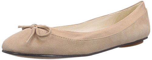 Buffalo London - 207-3562 KID SUEDE, Ballerine Donna Beige (Beige (DUSTY 01))