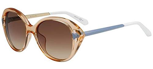 Dior 6MD Pfirsichfarben & mattes Azurblau Chromatic2 Cats Eyes Sunglasses Lens Category 3
