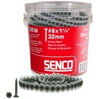 Senco Produkte 08t125W 20,3x 3,2cm. magazinierte Zement Board Schrauben