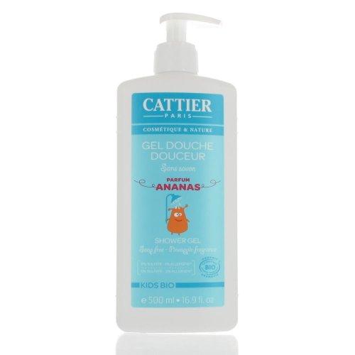 Cattier Gel Douche Douceur Kids Parfum Ananas BIO 500 ml