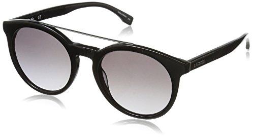 Lacoste l821s 001 52 occhiali da sole, nero (black), unisex-adulto