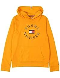 Tommy Hilfiger Sudadera Logo Amarillo para Niño