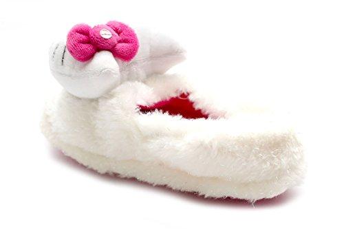 Mr Shoes , Chaussons pour fille Blanc blanc Blanc - blanc