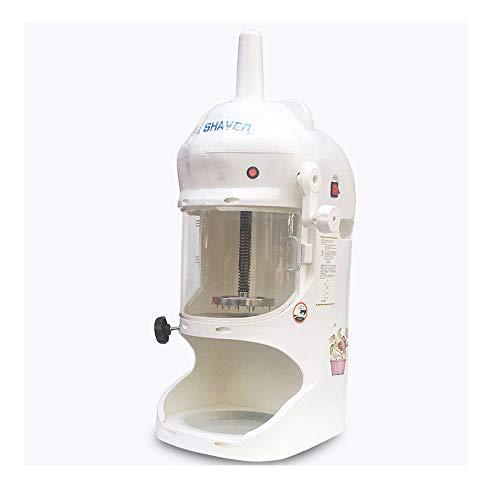 Ice Shaver und Snow Cone Maker, Beste elektrische Schneekegelmaschine, rasiertes EIS, Smoothie Ice Crusher, Präfekt für Kneipen, Restaurants, Hotels, Cafés, Cafés usw.