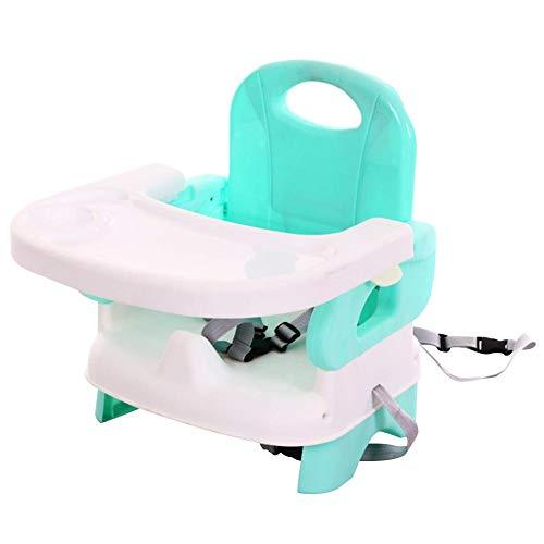 Dubleir Tragbarer Kinder-Esszimmerstuhl, Multifunktions-Baby-Tischsitz, klappbarer Babysitz für Esszimmerstuhl mit Sicherheitsgurt