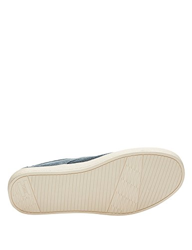 Paseo Schuh slate blue coated twill Slate-Blue