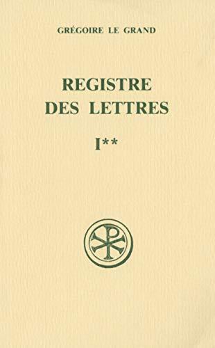 Registre des lettres - tome 1 Livres I et II (1)