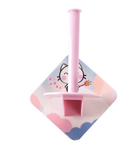 Joeesun Fügen Sie freie Lochung Papierrollenhalter Toilettenpapierhalter kreative Küche vertikale Papierhandtuchhalter Papierhandtuchhalter ein (Vertikale Lochung)