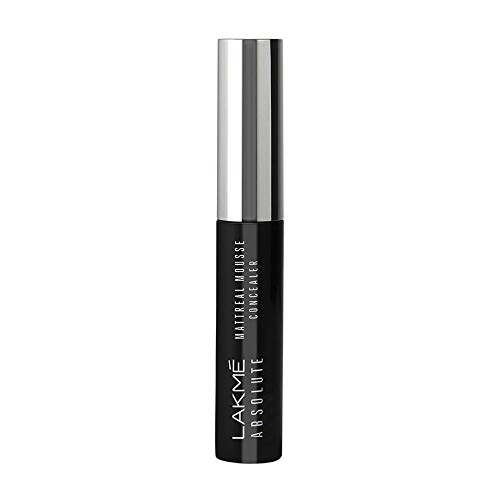 Lakme Absolute Mattereal Mousse Concealer, Natural, 9 g