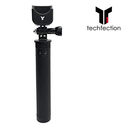 Techfection Osmo Pocket Selfie Stick Aluminiumlegierung Länge verstellbare Verlängerungsstange für DJI Osmo Pocket Upgrade-Zubehör