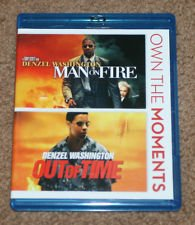 Man On Fire Out Of Time Blu-ray Double Feature
