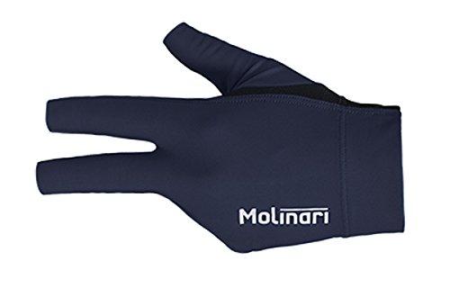 Molinari Billard Handschuh navy-blue, linke Hand
