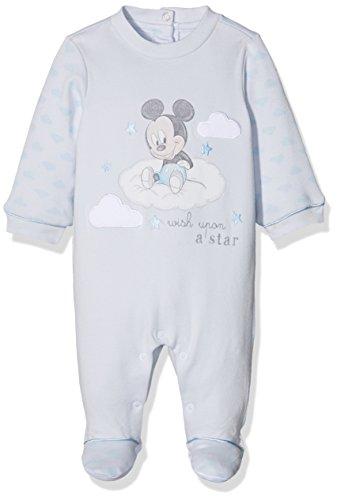 Disney 09021680000000, tutina bimbo, turchese (azzurro chiaro 021), (taglia produttore:001-0-1m)