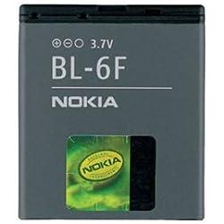 Batterie dŽorigine Nokia BL-6F Lithium-Ion 1200 mAh dedié pour le Nokia N95 8GB