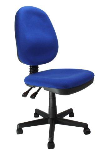 Eliza Tinsley 505FB - Silla de oficina con respaldo alto, color azul