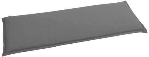 GO-DE 2945-11 Bankauflage 2 Sitzer, circa 115 x 48 x 6 cm, anthrazit uni
