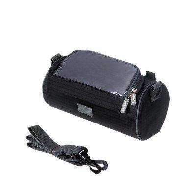 XY&GKWasserdichte Mountain Bike Bag Fahrrad Front Beam Bag Fahrradtasche vorne Tasche Armaturen Tasche Hecktasche Reitwagen Bag Pipe Bag, machen Ihre Reise angenehmer Black