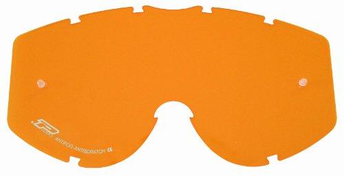 Progrip Vetro di ricambio per occhiali da moto, Arancione, (Vetro Occhiali)