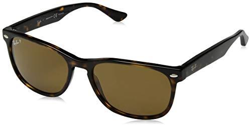 Ray-Ban Unisex-Erwachsene 0RB2184 Sonnenbrille, Braun (Havana), 57