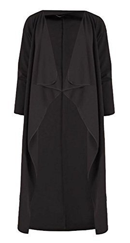 Generic - Gilet - Cape - Femme Noir