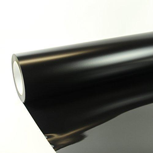 1m x 0,5m Poli-Flex Premium Folie Schwarz 402 Flexfolie Buegelfolie Poli-Flex