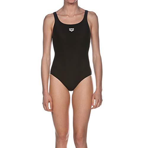 arena Damen Sport Badeanzug Dynamo (Schnelltrocknend, UV-Schutz UPF 50+, Chlor- /Salzwasserbeständig), schwarz (Black), 40