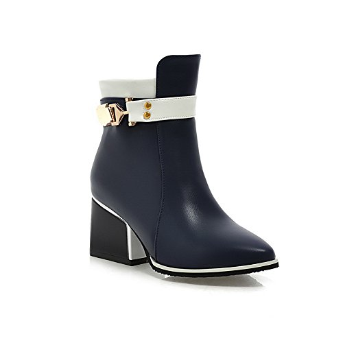 A&N ,  Damen Chukka Boots , blau - blau - Größe: 37 (Boots Saints Frauen All)
