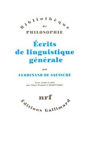 Ecrits de linguistique gnrale