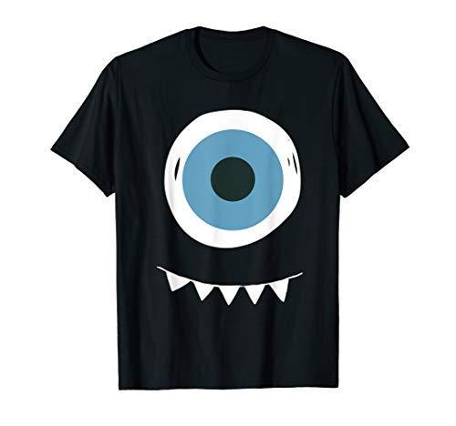 Kostüm Gewinnen Wettbewerb - Lächelnder Augapfel mit Zähnen Monster Halloween T-Shirt