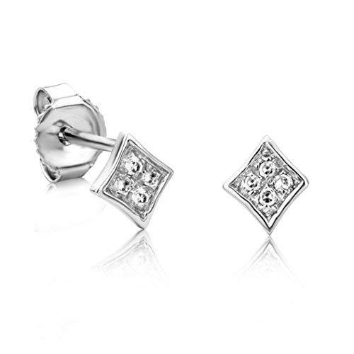 1eb68a6ab410 orovi Pendientes diamante pendientes set